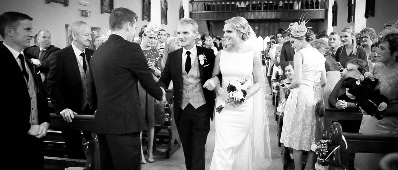 wedding video kilkenny barbara + Thomas