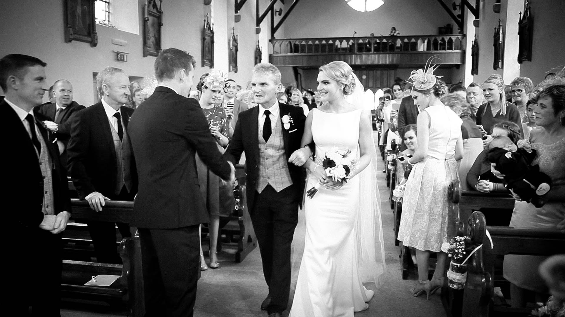 wedding video kilkenny | barbara + thomas | new park hotel |